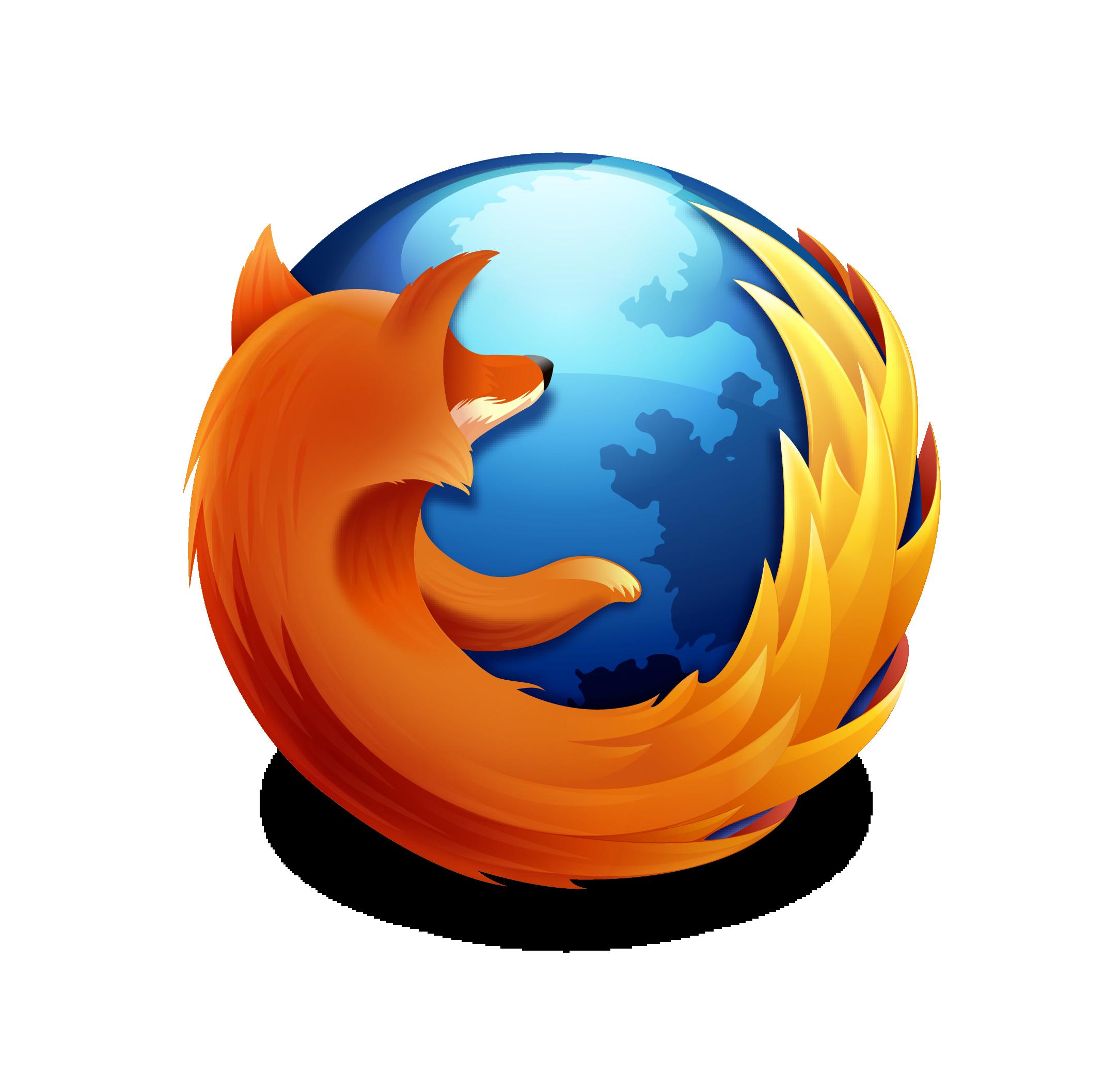firefoxのロゴ画像